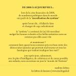 La morale du système. Texte Sandrine Delrieu