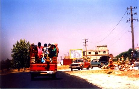 Beirut, au loin ©S.Delrieu 1995